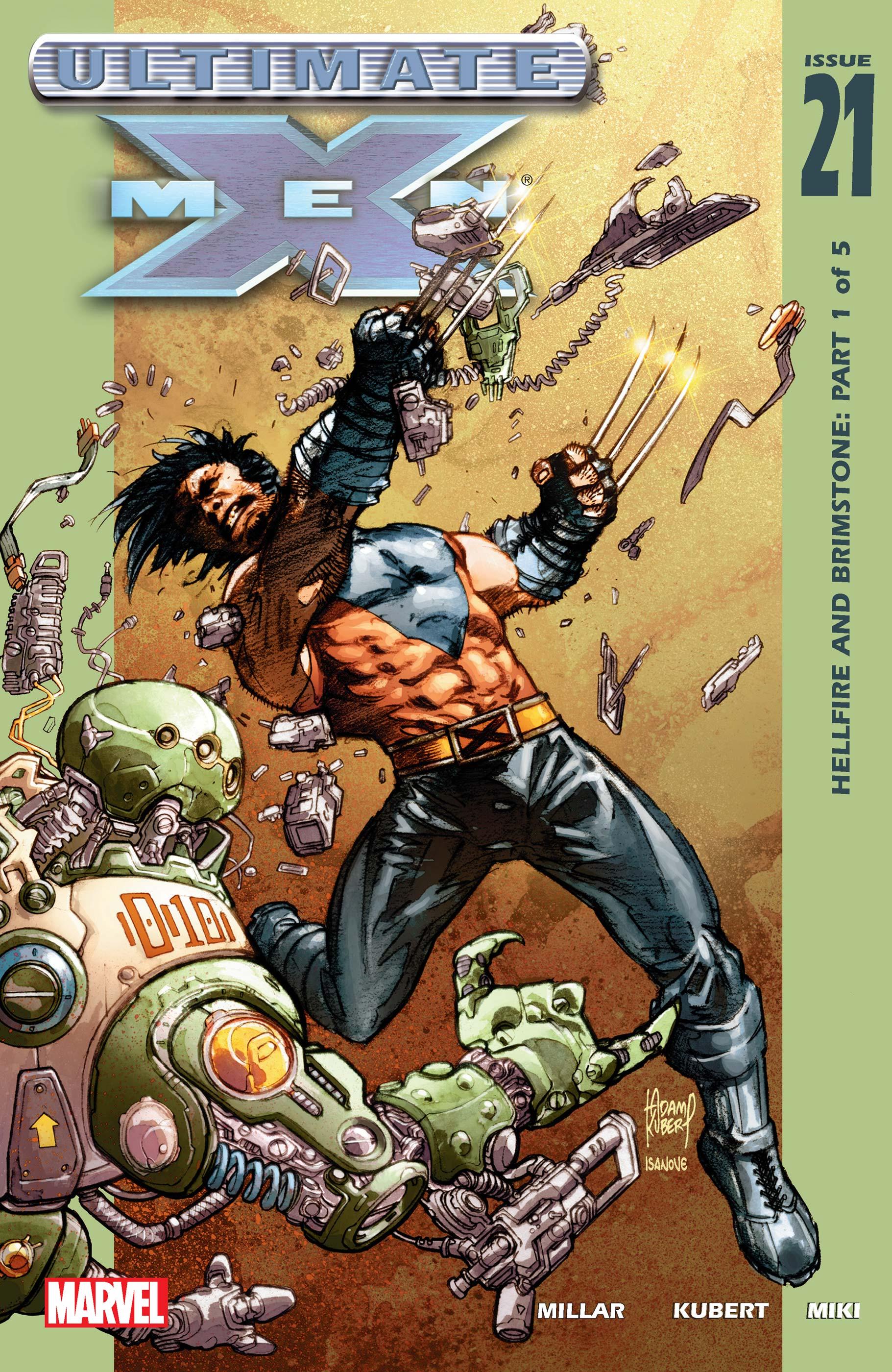 Ultimate X-Men (2000) #21