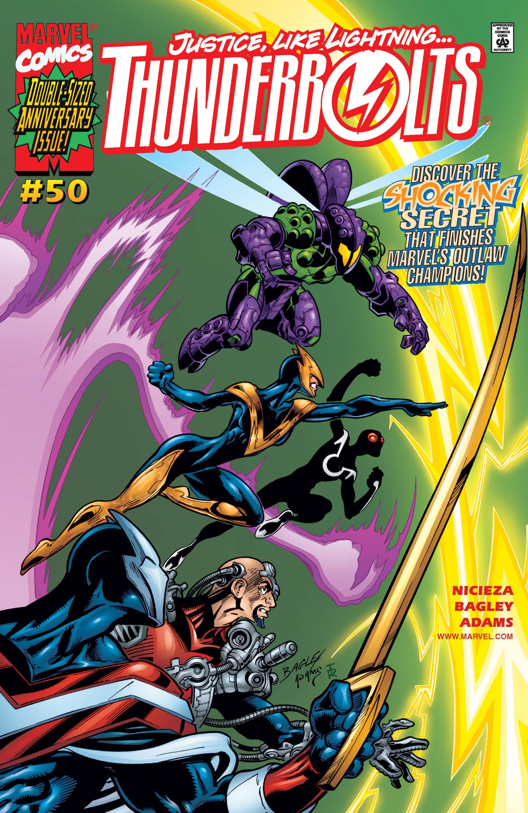 Thunderbolts (1997) #50