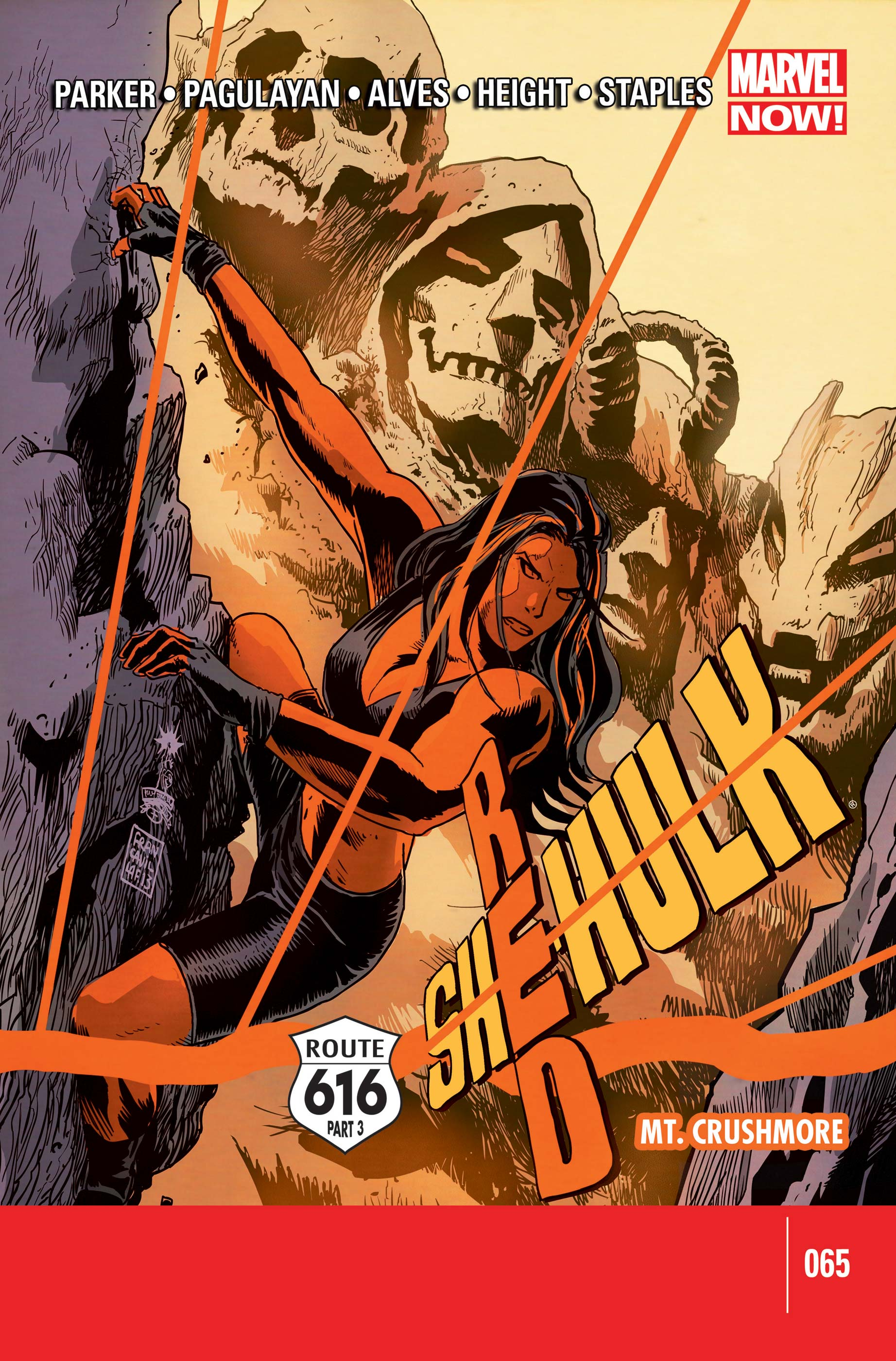 Red She-Hulk (2012) #65