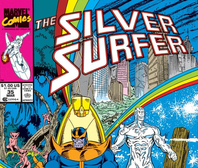 SILVER SURFER (1987) #35