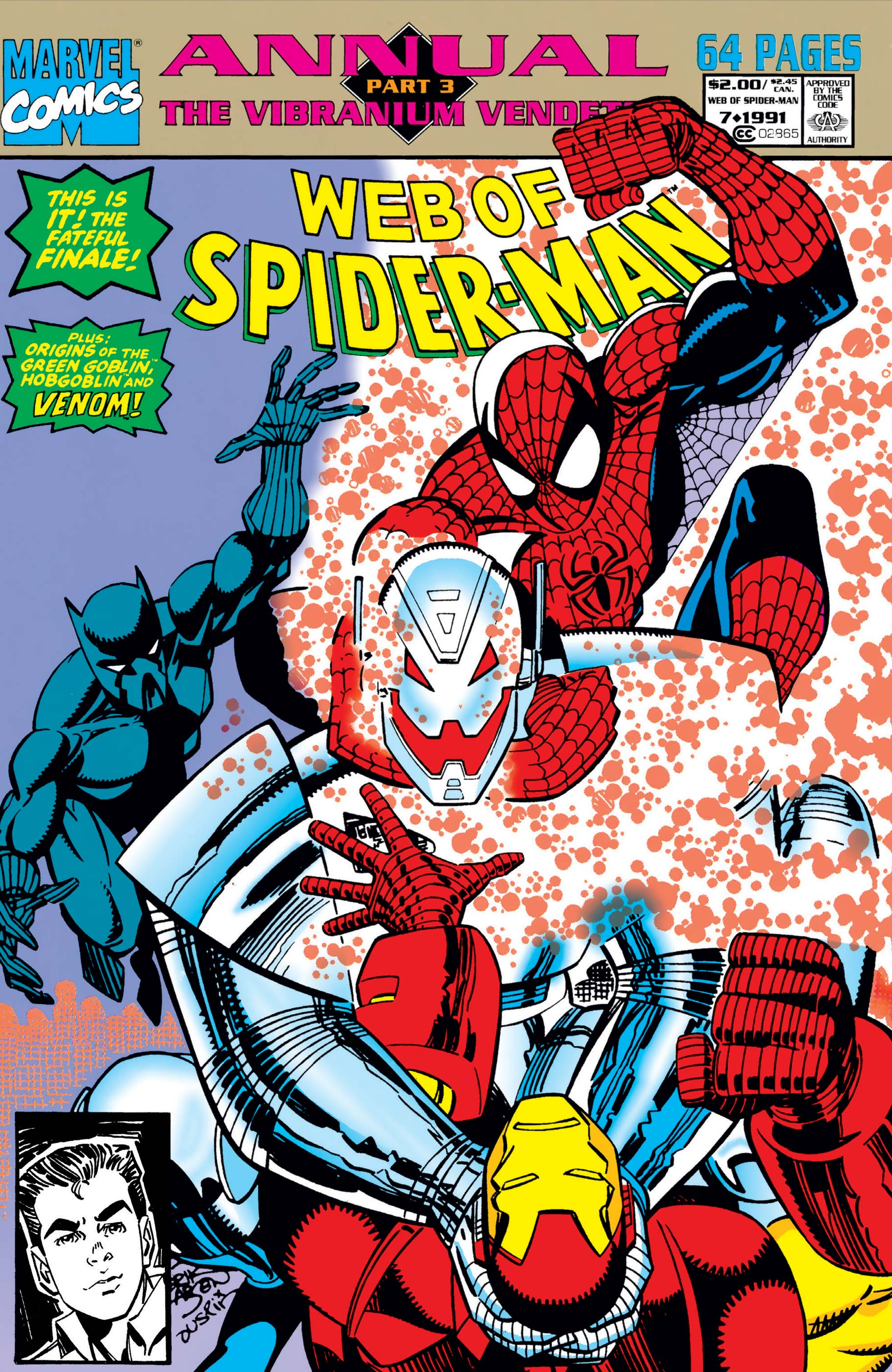 Web of Spider-Man Annual (1985) #7