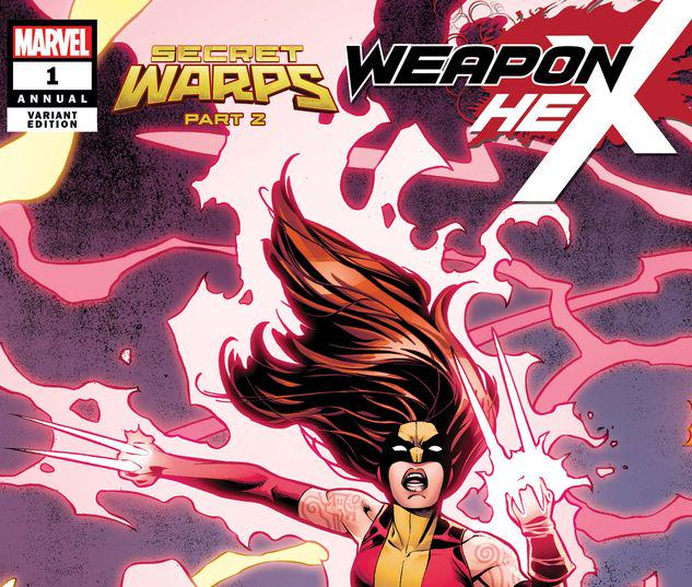 Secret Warps: Weapon Hex Annual #1