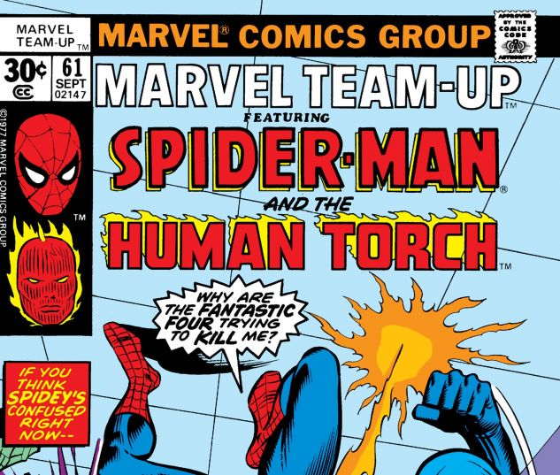 MARVEL TEAM-UP (1972) #61