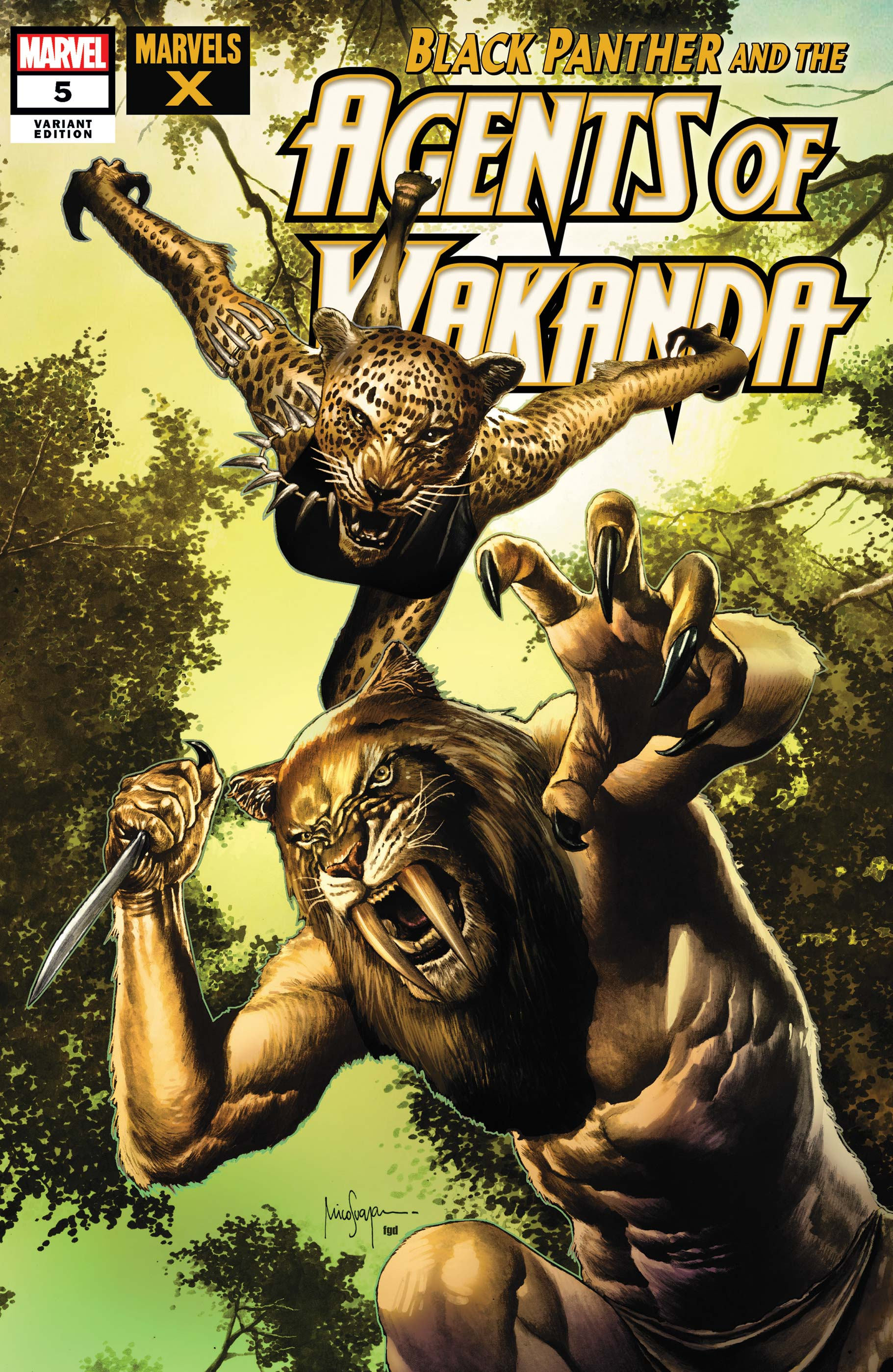 Black Panther and the Agents of Wakanda (2019) #5 (Variant)