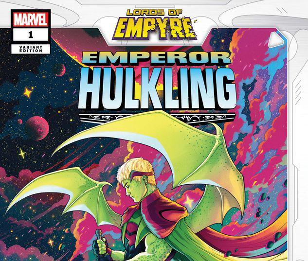 LORDS OF EMPYRE: EMPEROR HULKLING 1 BARTEL VARIANT #1