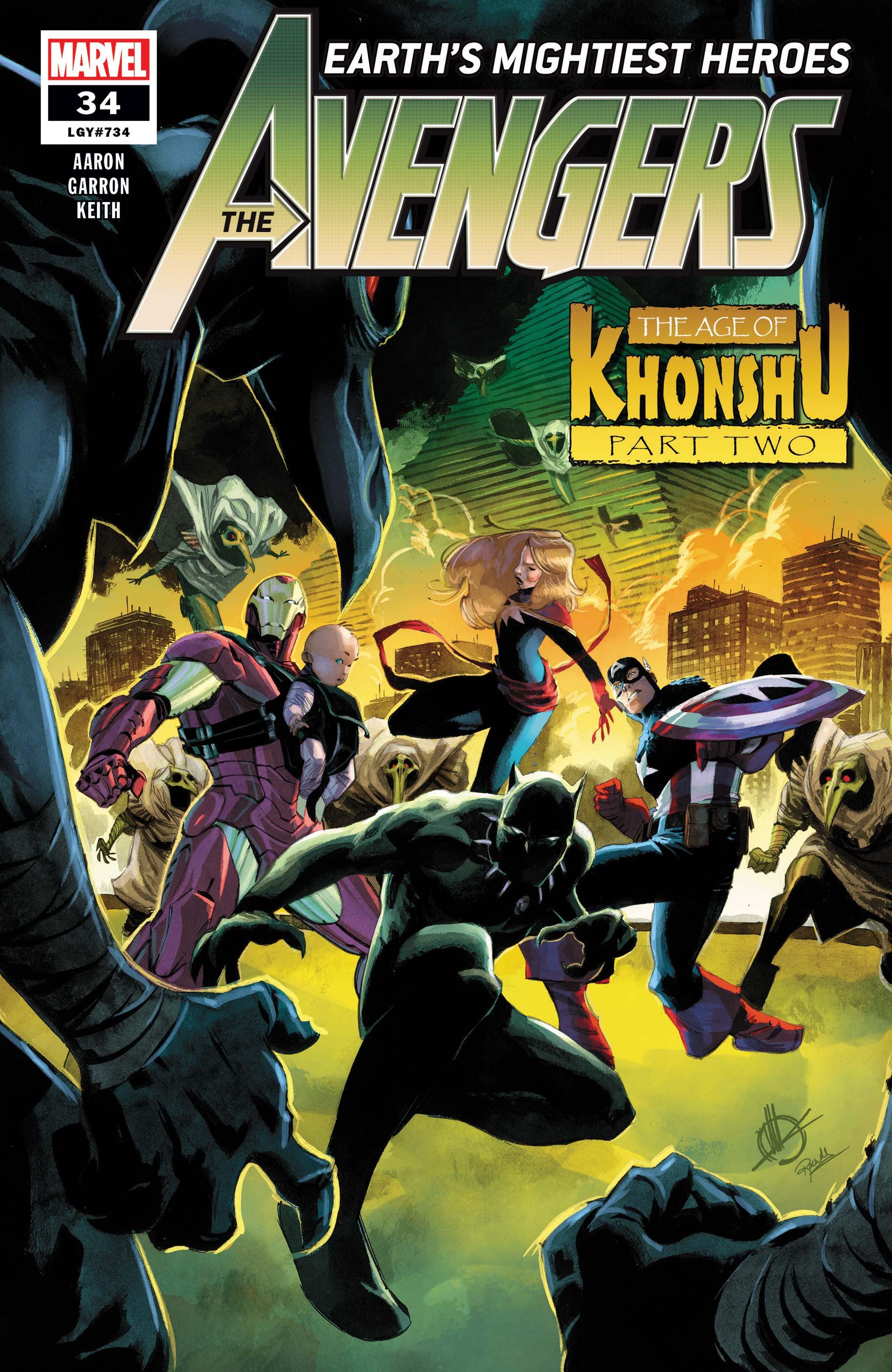 Avengers (2018) #34