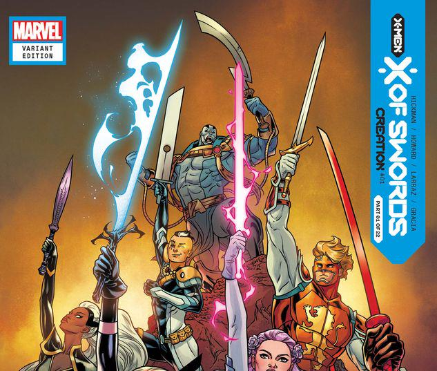 X OF SWORDS: CREATION 1 DAUTERMAN LAUNCH VARIANT #1