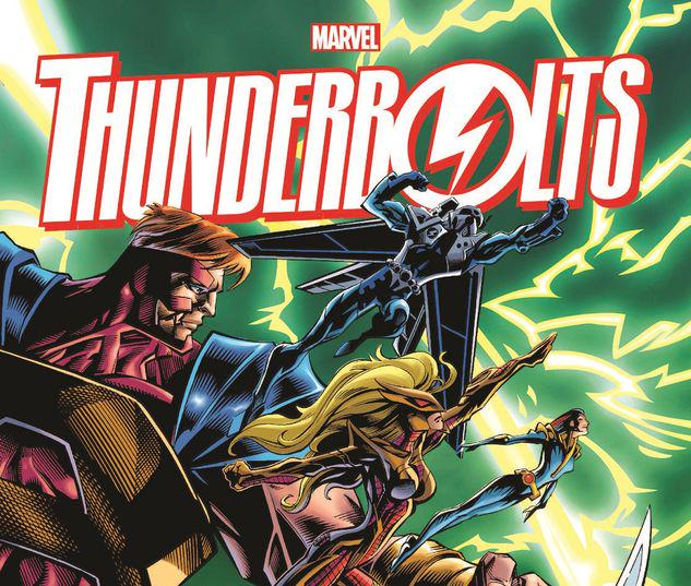 THUNDERBOLTS OMNIBUS VOL. 1 HC BAGLEY FIRST ISSUE COVER #1
