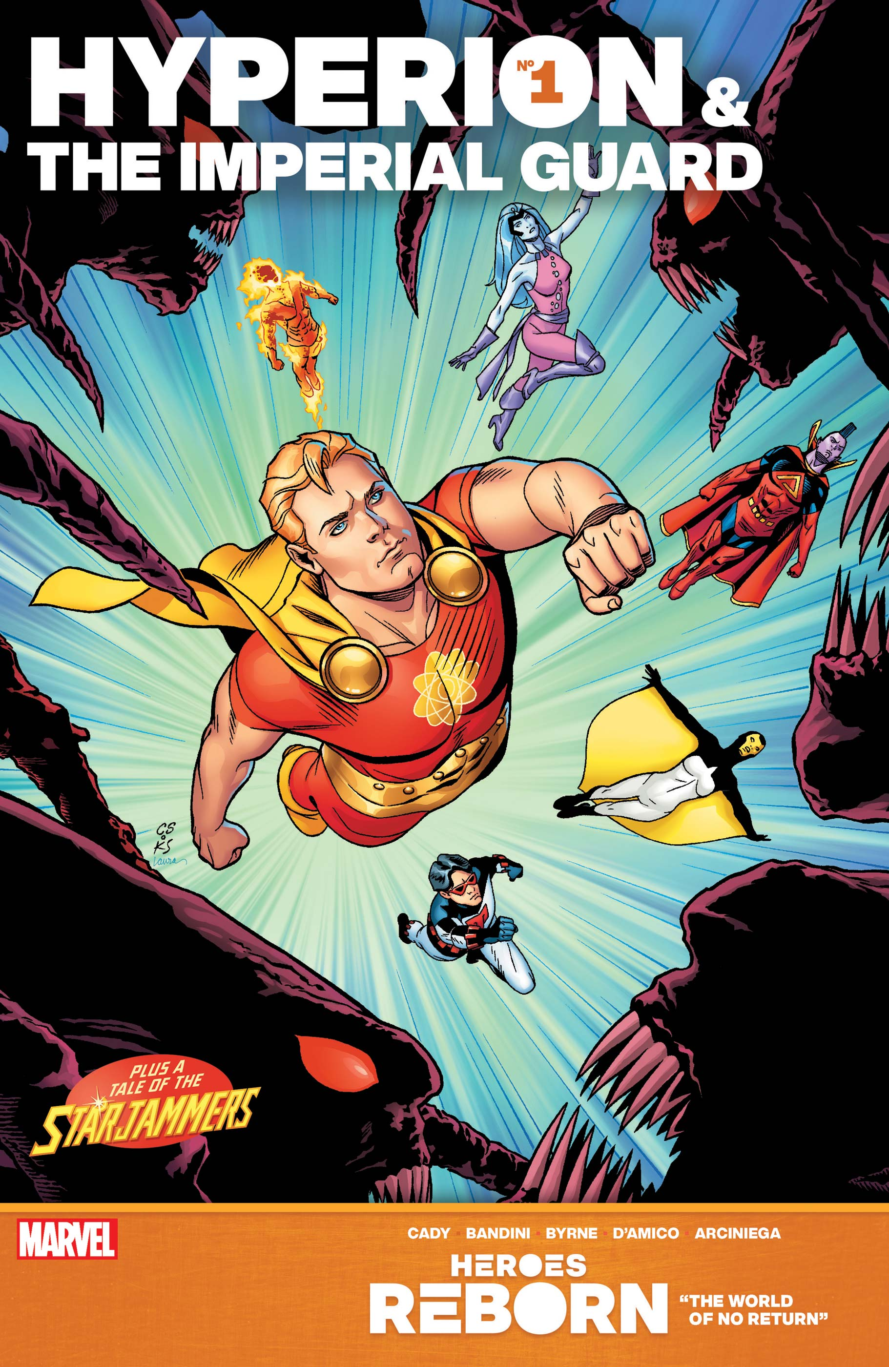 HEROES REBORN: HYPERION & THE IMPERIAL GUARD 1 (2021) #1