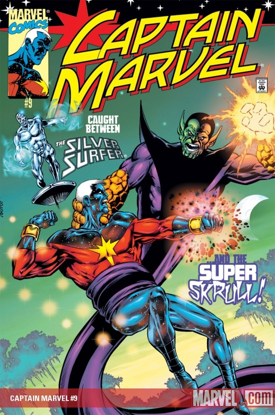 Captain Marvel (2000) #9