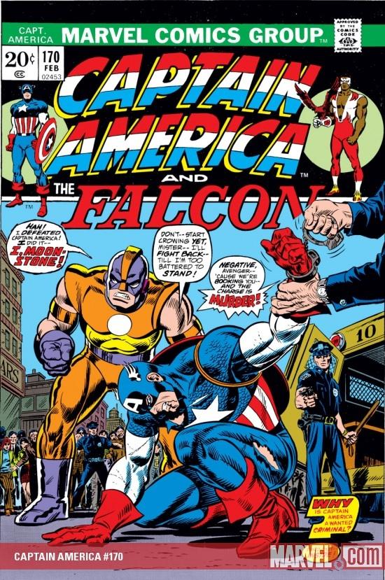 Captain America (1968) #170