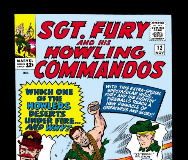Sgt. Fury and His Howling Commandos #12