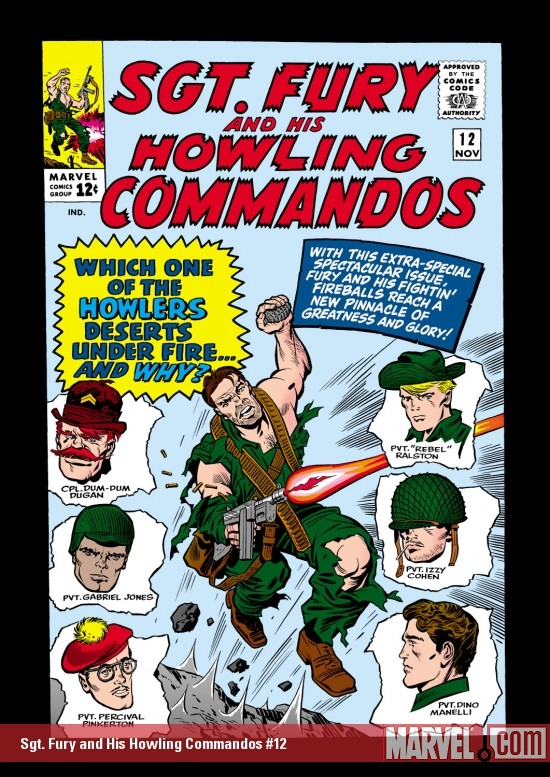 Sgt. Fury and His Howling Commandos (1963) #12