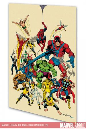 Marvel Legacy: The 1960s-1990s Handbook (2007)