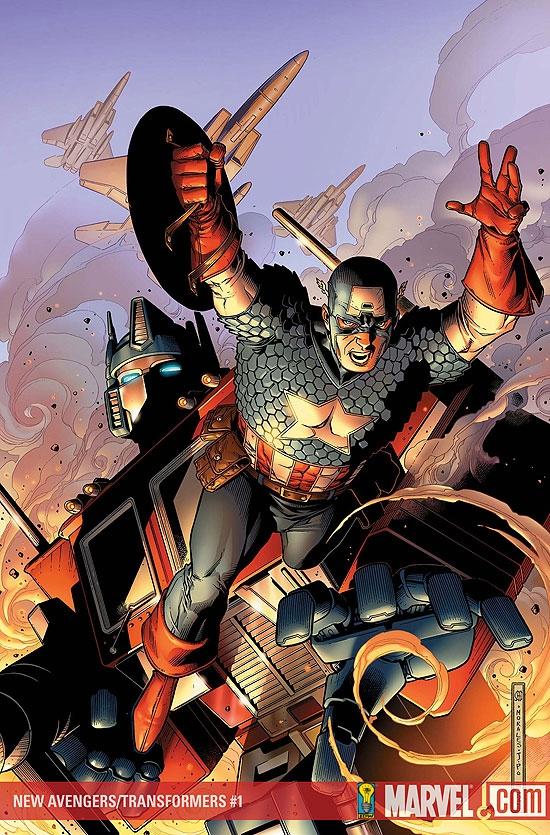 New Avengers/Transformers (2007) #1
