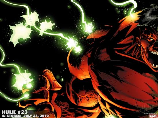 Hulk (2008) #23 Wallpaper