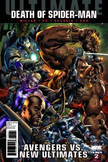 Ultimate Comics Avengers Vs New Ultimates #2  (HITCH VARIANT)