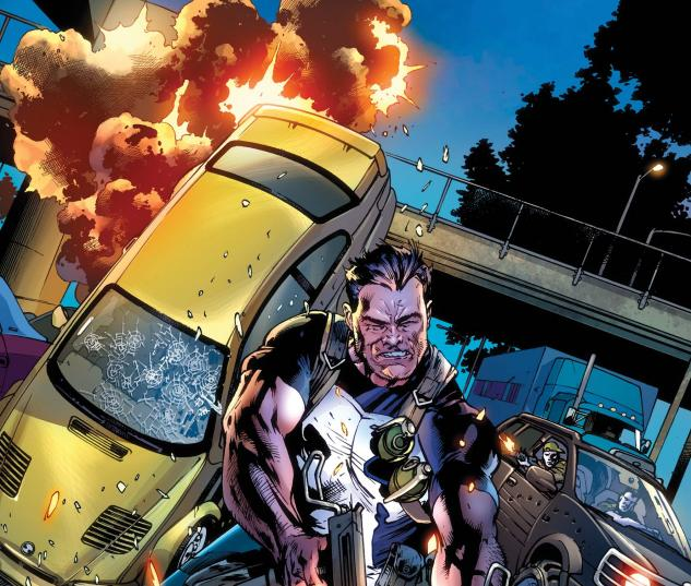 The Punisher #2 Cover