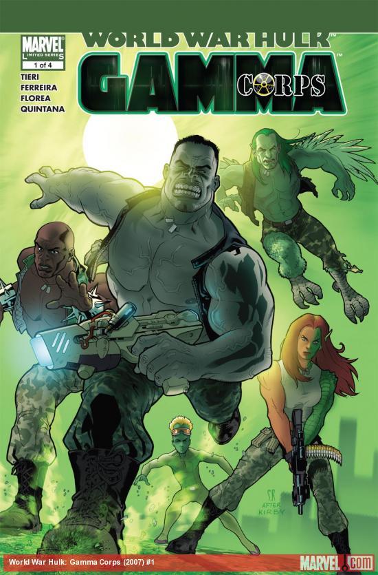 World War Hulk: Gamma Corps (2007) #1