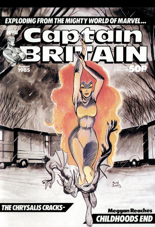 Captain Britain (1985) #8