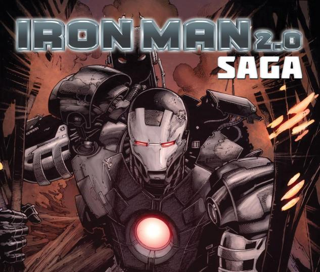 Iron Man 2.0 Saga (2011) #1 Cover