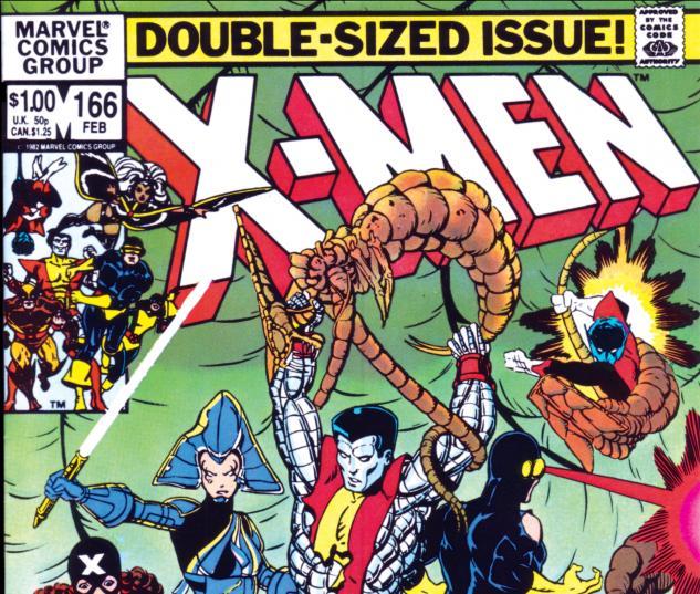 Uncanny X-Men (1963) #166 Cover