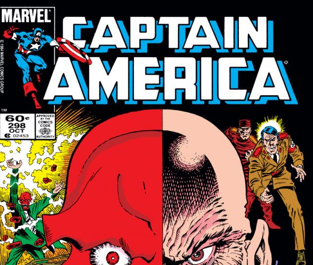 Captain America (1968) #298 Cover