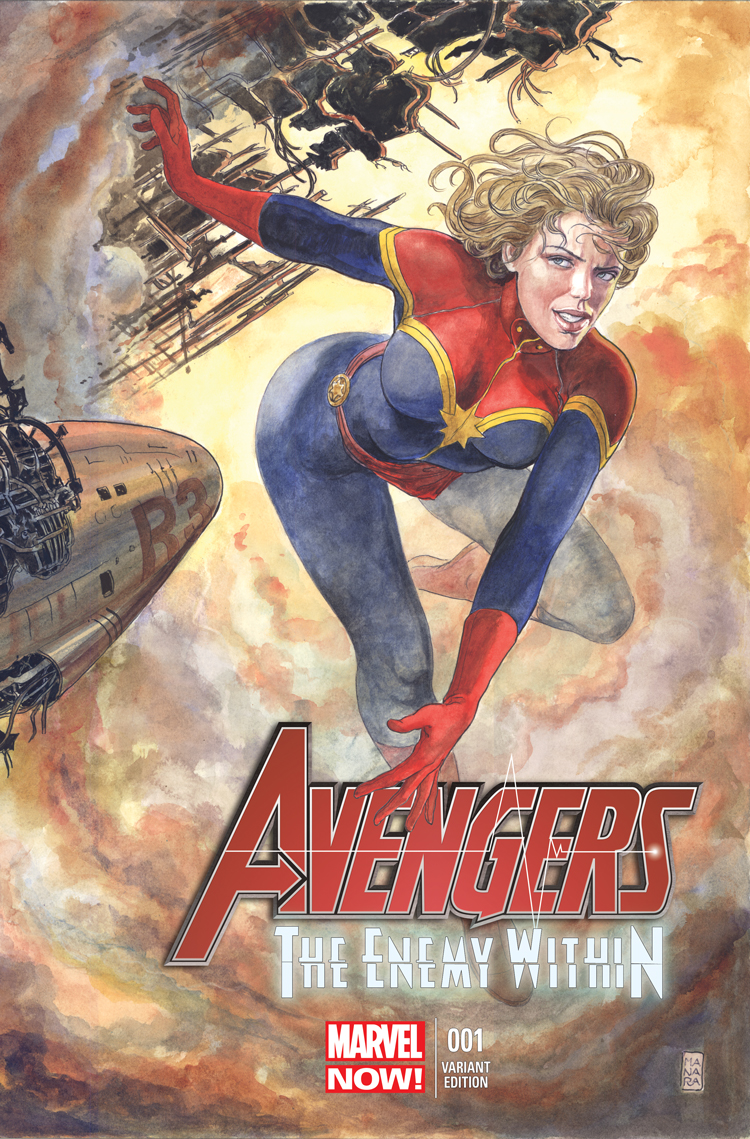 Avengers: The Enemy Within (2013) #1 (Manara Variant)