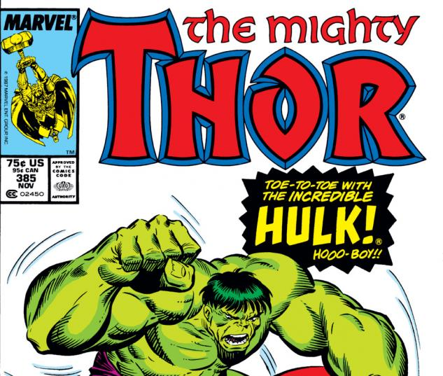 Thor (1966) #385 Cover