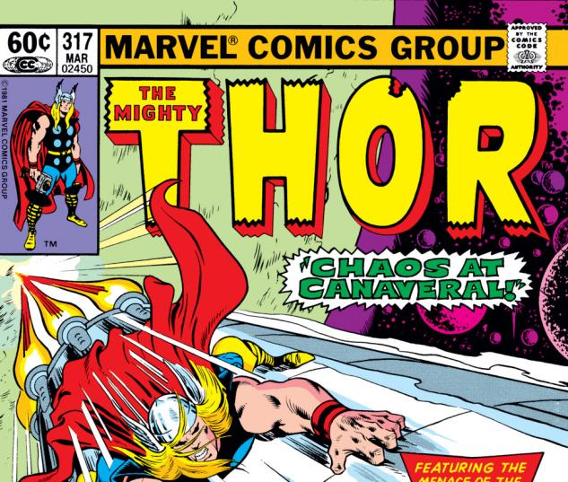 Thor (1966) #317 Cover