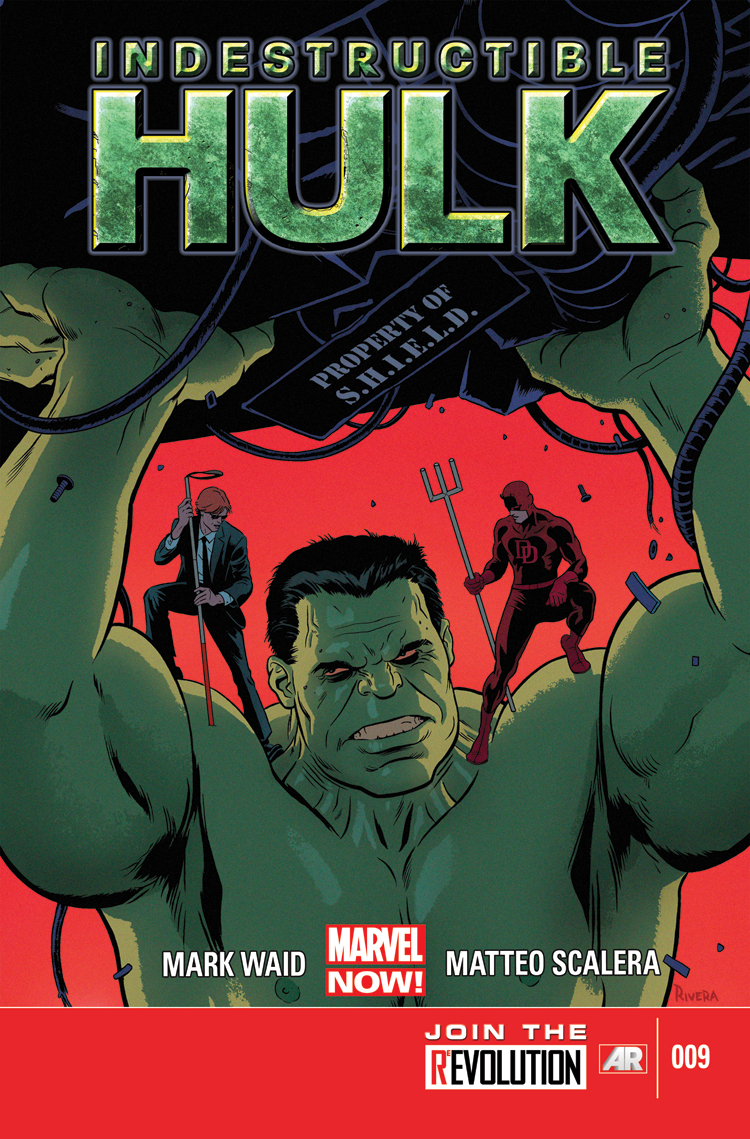 Indestructible Hulk (2012) #9