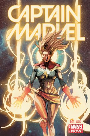 Captain Marvel (2014) #1 (Yu Variant)