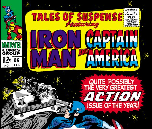 Tales of Suspense (1959) #86 Cover