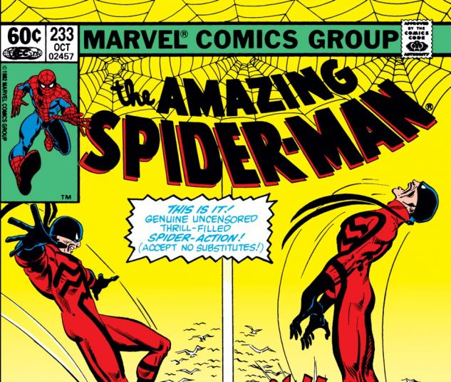 Amazing Spider-Man (1963) #233 Cover