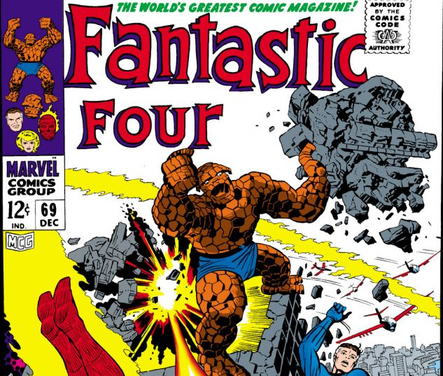 Fantastic Four (1961) #69 Cover