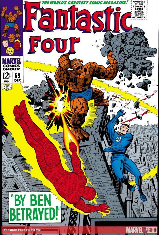 Fantastic Four (1961) #69