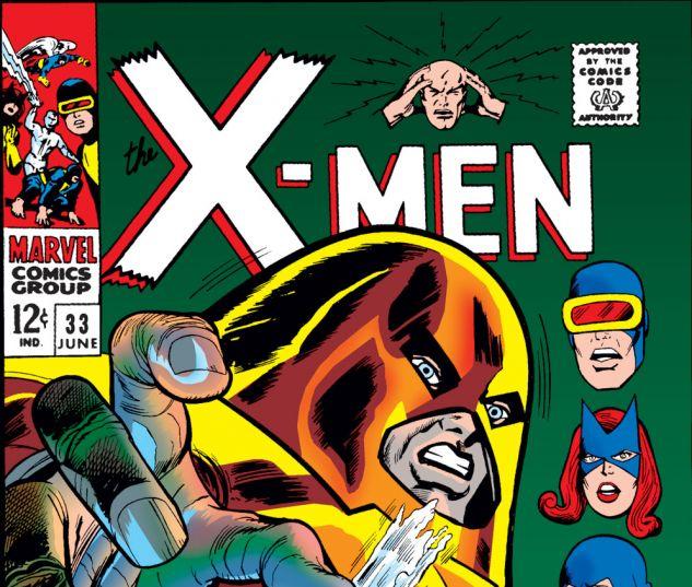 Uncanny X-Men (1963) #33 Cover
