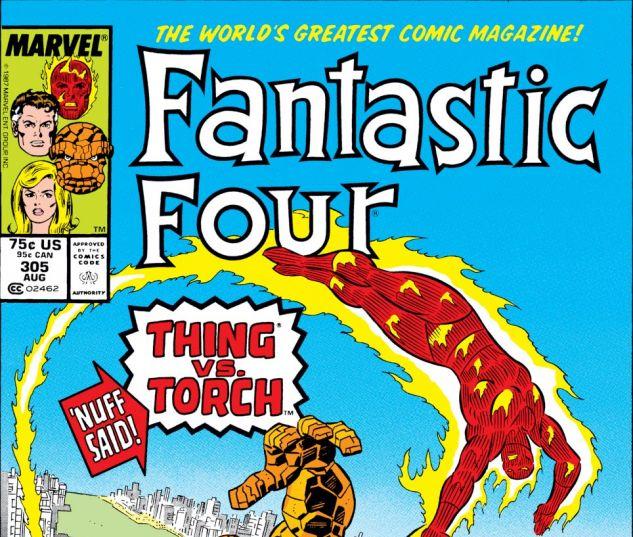 Fantastic Four (1961) #305 Cover