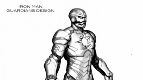 Marvel AR: Iron Man #6 Art Evolution