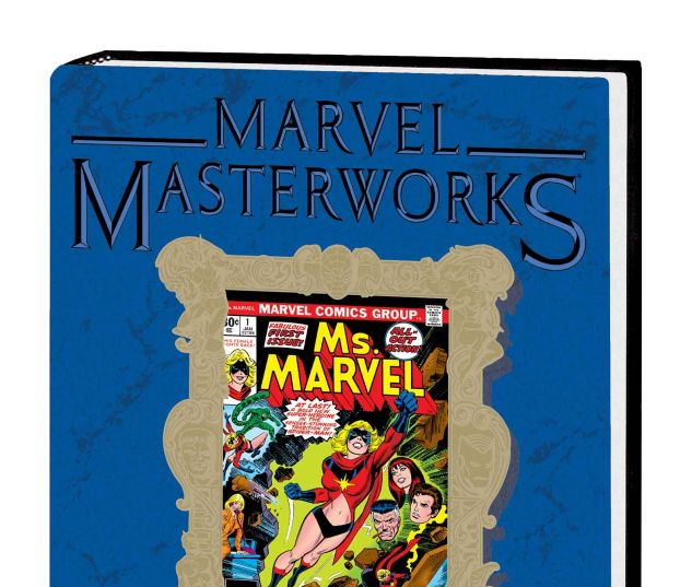 MARVEL MASTERWORKS: MS. MARVEL VOL. 1 HC VARIANT (DM ONLY)
