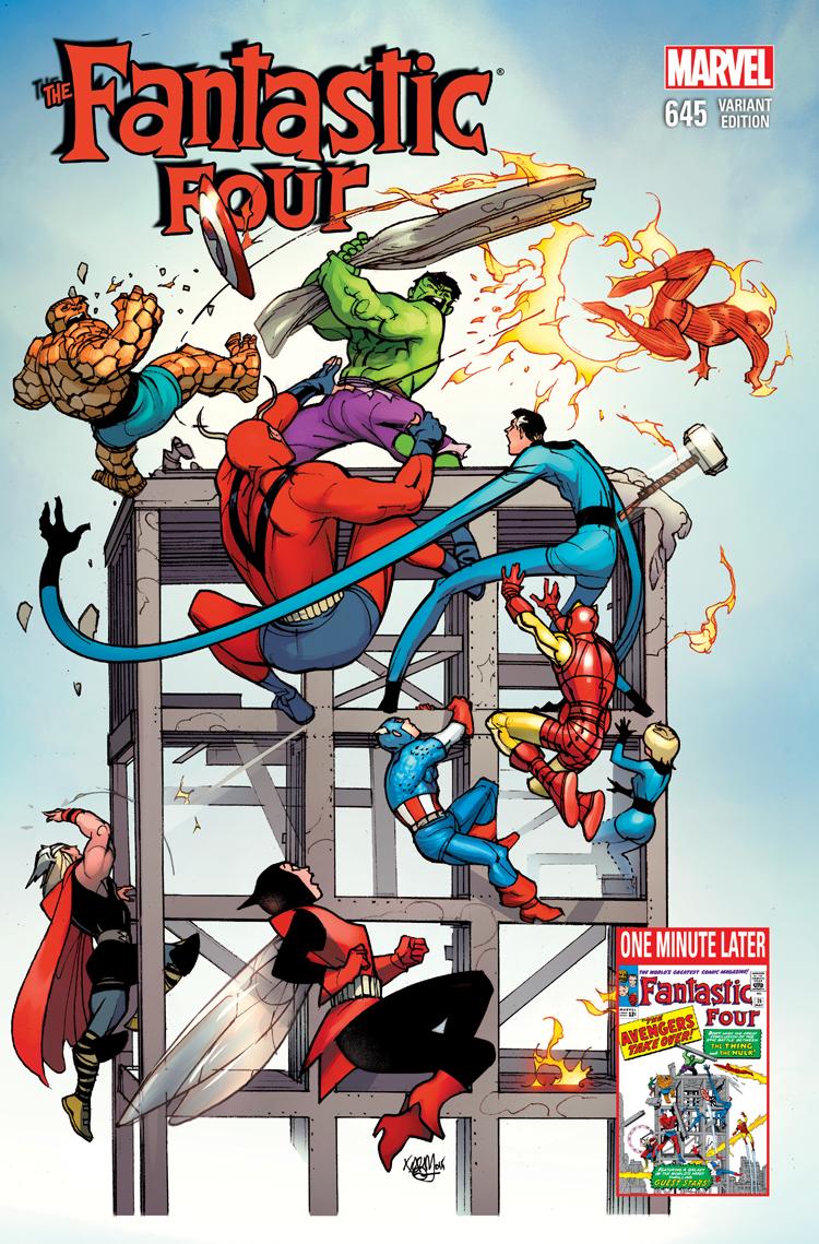 Fantastic Four (2014) #645 (Avengers Variant)