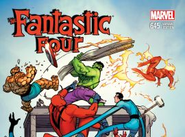 FANTASTIC FOUR 645 AVENGERS VARIANT (WITH DIGITAL CODE)