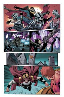 Squadron Sinister #1 preview art by Carlos Pacheco