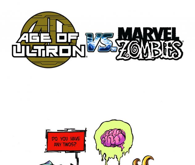 AGE OF ULTRON VS. MARVEL ZOMBIES 1 YOUNG VARIANT (SW, WITH DIGITAL CODE)