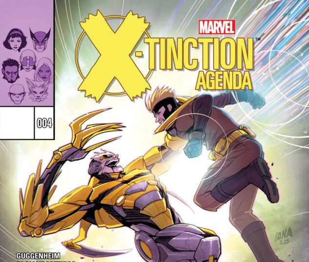 X-TINCTION AGENDA 4 (SW, WITH DIGITAL CODE)