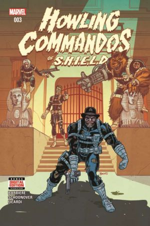 Howling Commandos of S.H.I.E.L.D. #3