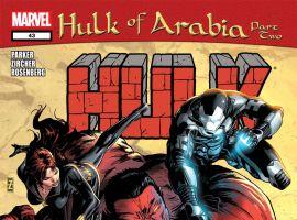 Hulk (2008) #43 Cover