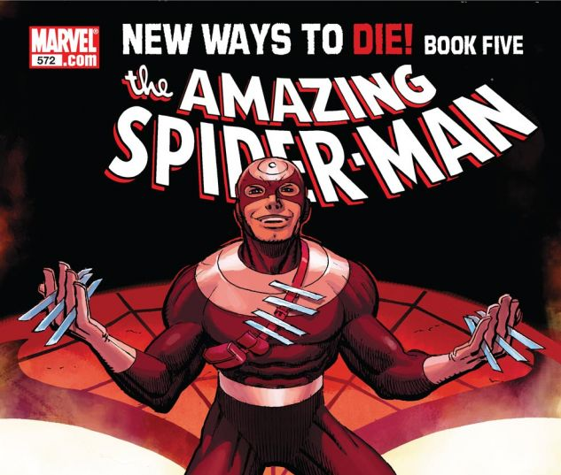 AMAZING SPIDER-MAN (1999) #572 Cover