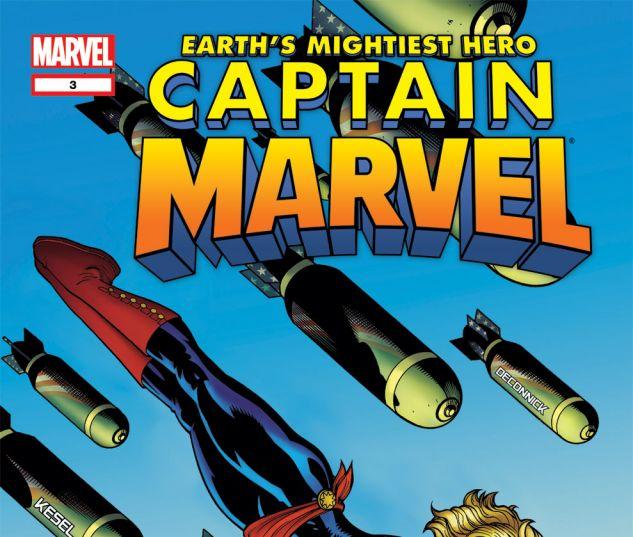 CAPTAIN MARVEL (2012) #3 Cover