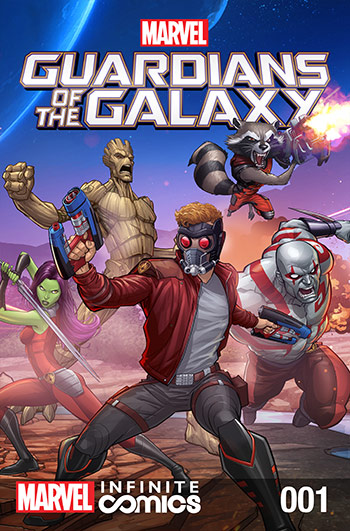 Marvel Universe Guardians of the Galaxy Infinite Comic (2015) #1